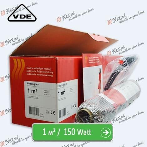 Heating Mat 1 м² - 150 Ватт. Нагревательный мат под плитку