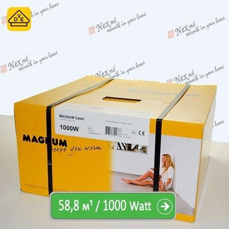 Нагревательный кабель Магнум 58,8 м/п - 1000 Ватт