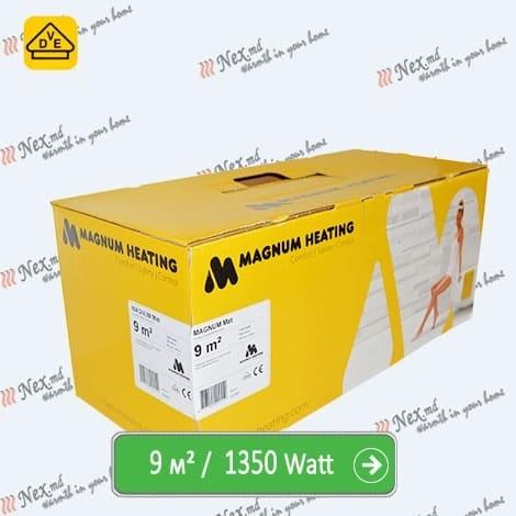 Magnum Mat 9,0 м² - 1350 Ватт. Теплый пол под плитку