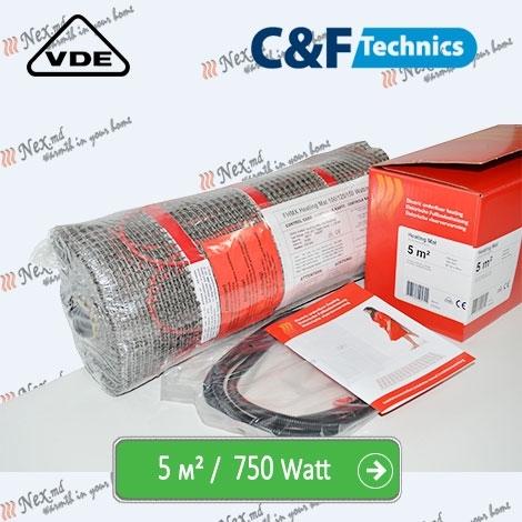 Heating Mat 5 м² - 750 Ватт. Нагревательный мат под плитку