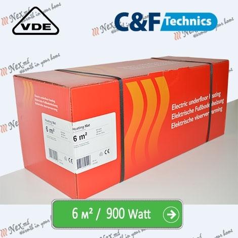 Heating Mat 6 м² - 900 Ватт. Нагревательный мат под плитку
