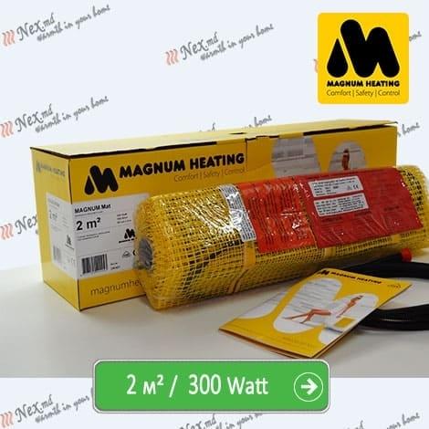 Magnum Mat 2,0 м² - 300 Ватт. Теплый пол под плитку