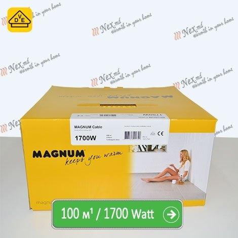 Нагревательный кабель Магнум 100 м/п - 1700 Ватт