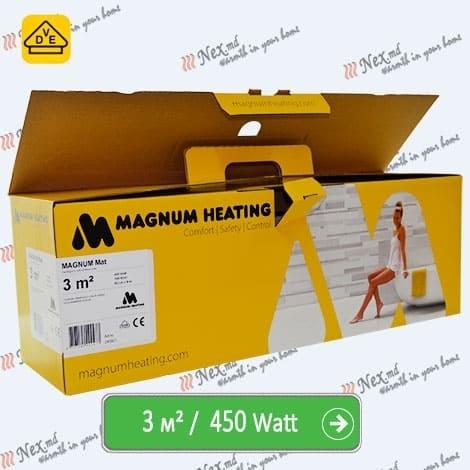 Magnum Mat 3,0 м² - 450 Ватт. Теплый пол под плитку