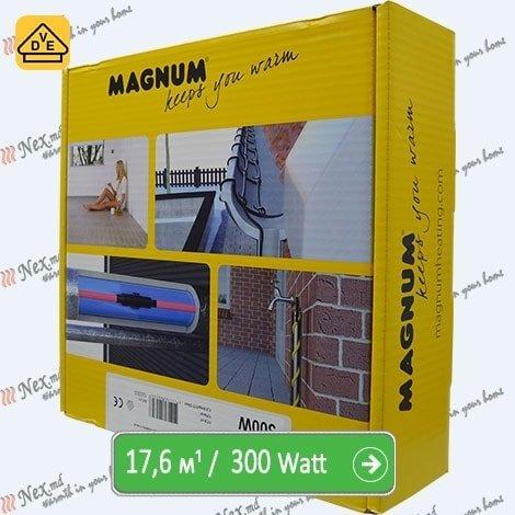 Нагревательный кабель Магнум 17,6 м/п - 300 Ватт