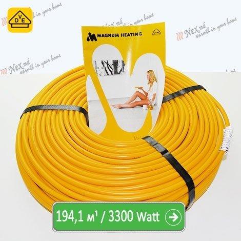 Нагревательный кабель Магнум 194,1 м/п - 3300 Ватт