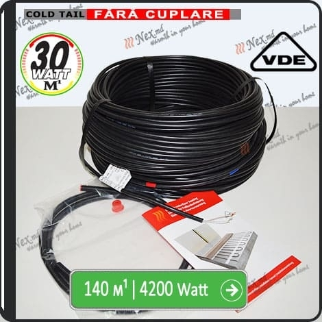 140м¹ǀ4200W C&F Black Cable