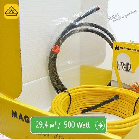 Нагревательный кабель Магнум 29,4 м/п - 500 Ватт