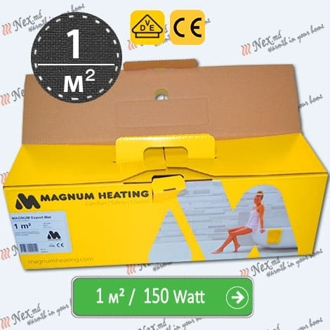 Magnum Export Mat 1 м² - 150 W - тонкий тёплый пол