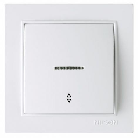 Выключатель проходной NILSON с подсветкой