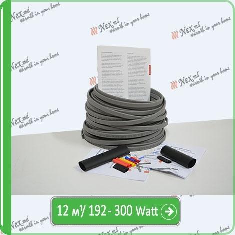Саморегулируемый кабель для обогрева труб SRL-16-2-T-12