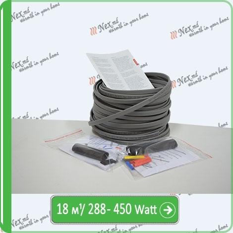 Саморегулируемый кабель для обогрева труб SRL-16-2-T-18