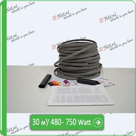 Саморегулируемый кабель для обогрева труб SRL-16-2-T-30