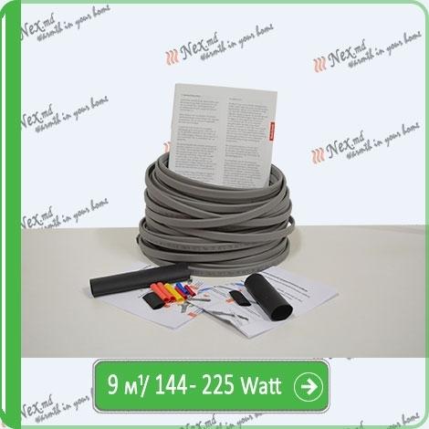 Саморегулируемый кабель для обогрева труб SRL-16-2-T-9