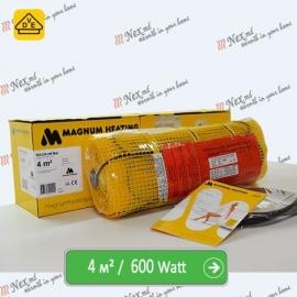 Magnum Mat 4,0 м² - 600 Ватт. Теплый пол под плитку