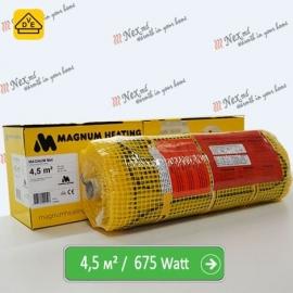 Magnum Mat 4,5 м² - 675 Ватт. Теплый пол под плитку