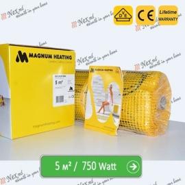 Magnum Mat 5,0 м² - 750 Ватт. Теплый пол под плитку