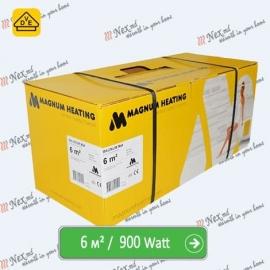 Magnum Mat 6,0 м² - 900 Ватт. Теплый пол под плитку