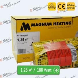 Magnum Mat 1,25 м² - 188 Ватт. Теплый пол под плитку.