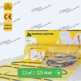Magnum Mat 1,5 м² - 225 Ватт. Теплый пол под плитку.