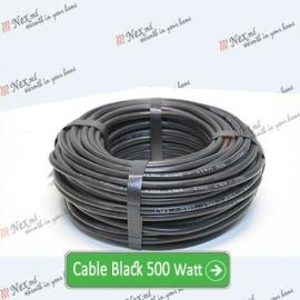 Нагревательный кабель «C&F Technics 17 Black» - 500 Ватт