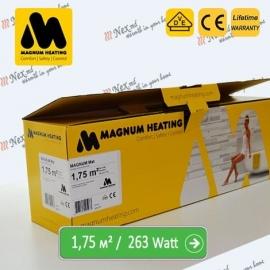 Magnum Mat 1,75 м² - 263 Ватт. Теплый пол под плитку