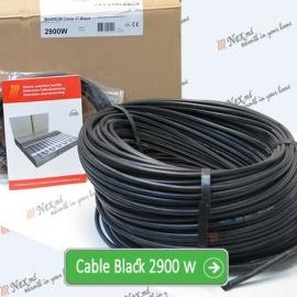 Нагревательный кабель «C&F Technics 17 Black» - 2900 Ватт