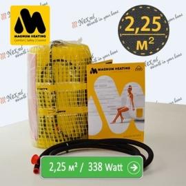 Magnum Mat 2,25 м² - 338 Ватт. Теплый пол под плитку