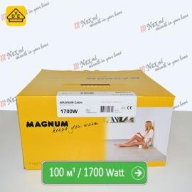 Нагревательный кабель Магнум 100 м/п - 1700 Ватт - «от 7,50 м² до 12,50 м²»