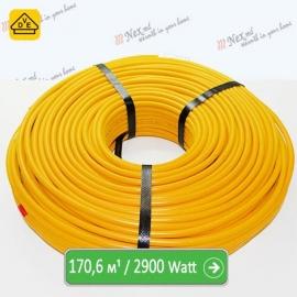 Нагревательный кабель Магнум 170,6 м/п - 2900 Ватт - «от 12,80 м² до 21,40 м²»