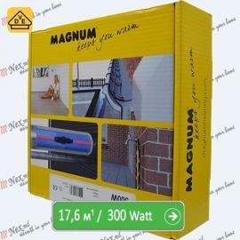 Нагревательный кабель Магнум 17,6 м/п - 300 Ватт - «от 1,30 м² до 2,20 м²»