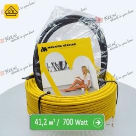 Нагревательный кабель Магнум 41,2 м/п - 700 Ватт - «от 3,10 м² до 5,10 м²»
