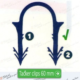 MAGNUM Tackerclips 60 mm ǀ якорная скоба