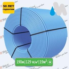 190 метров трубы Magnum PE-RT-16x2 для водяного теплого пола