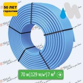 70 метров трубы Magnum PE-RT-16x2 для водяного теплого пола