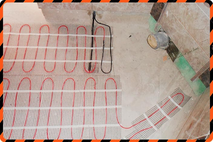 Instalare Heating Mat - foto - 22
